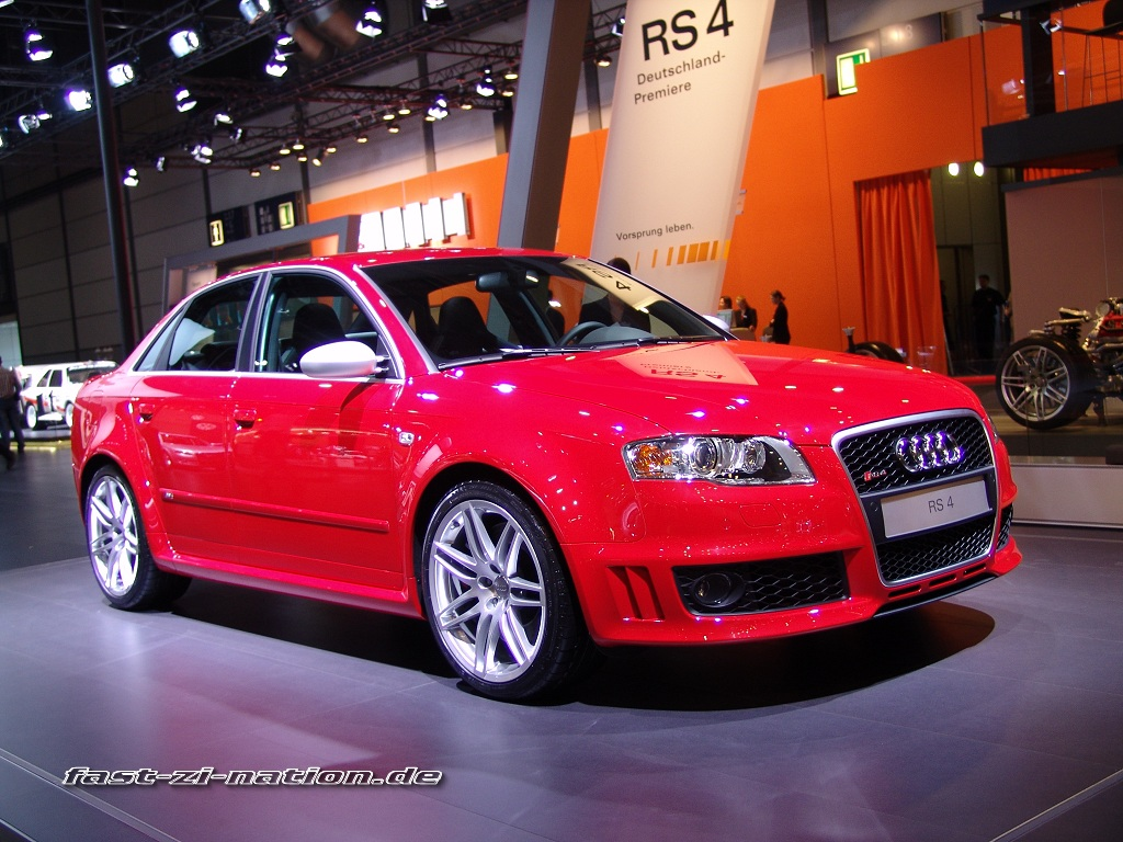 AMI 2005 wallpaper: Audi RS4