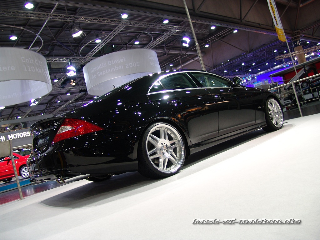 AMI 2005 wallpaper: Mercedes Benz CLS by Brabus