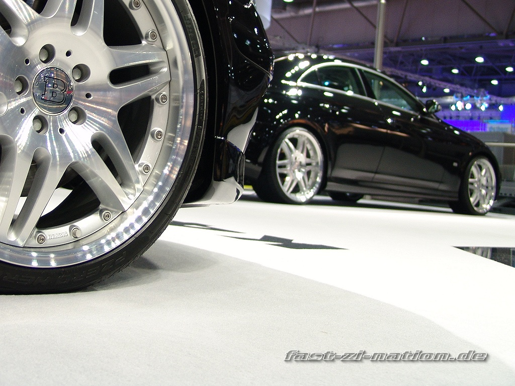 AMI 2005 wallpaper: Mercedes-Benz CLS by Brabus