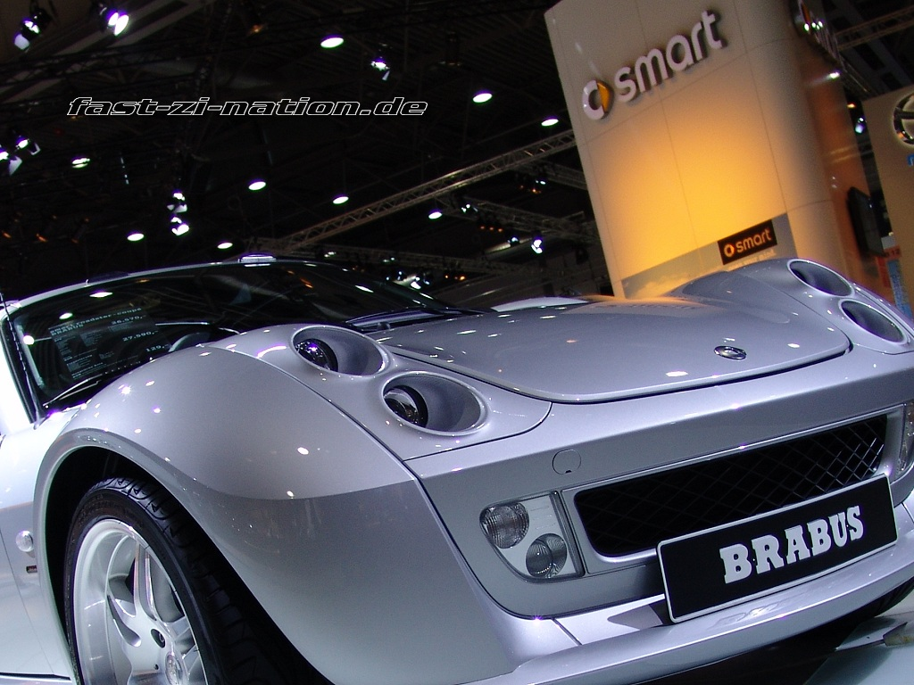 AMI 2005 wallpaper: Smart Roadster by Brabus
