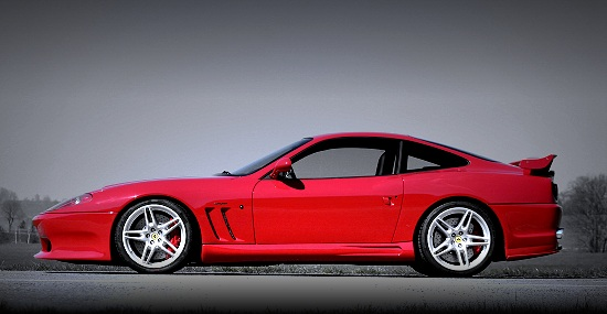 Ferrari 575 Maranello by Novitec Rosso - left side view