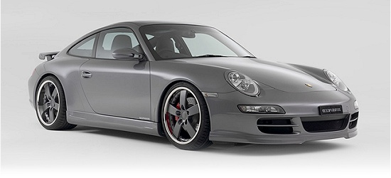 Porsche 997 by Rinspeed - right-front view