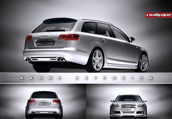 RANGE EXTENSION - Audi A6 by Abt Sportsline (3 views), click to get right-rear view as desktop wallpaper in 1024x768