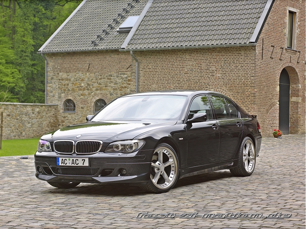 wallpaper: BMW 7-series by AC Schnitzer (front-left view)