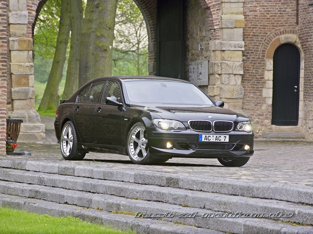 wallpaper: BMW 7-series by AC Schnitzer (front-right view)