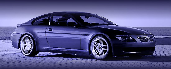 B6: BMW 6-series by Alpina - right-front view