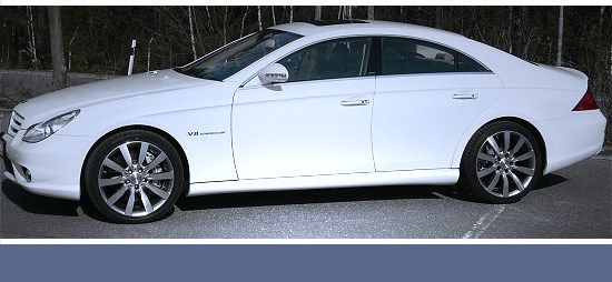 Mercedes Benz CLS by A_R_T - left side view