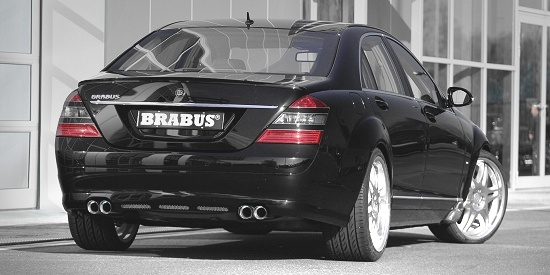 Mercedes Benz S-class by Brabus - rear-right view