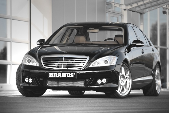 Mercedes Benz S-class by Brabus - front-left-view