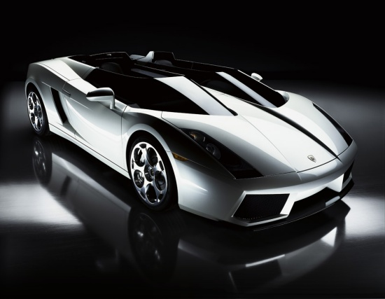 Lamborghini Concept S - front-right view from above