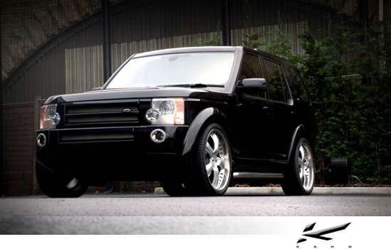 Land Rover Discovery by Kahn - front-left view