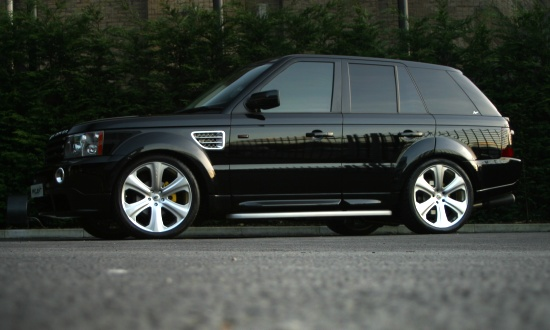 Range Rover Sport by Kahn - left side view