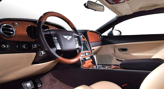 Bentley Continental GT by Mansory - interior view
