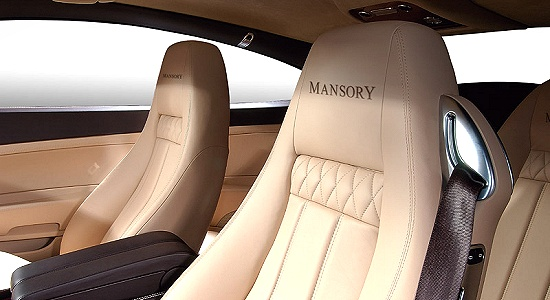 Bentley Continental GT by Mansory - interior view including backrests