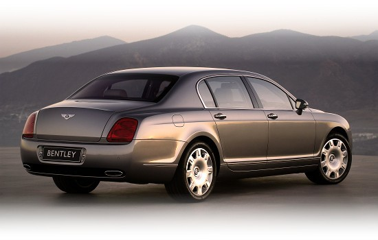 Bentley Flying Spur - right-rear view