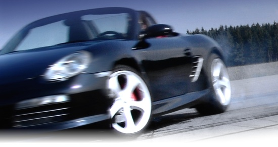 TechArt Boxster S drifting by