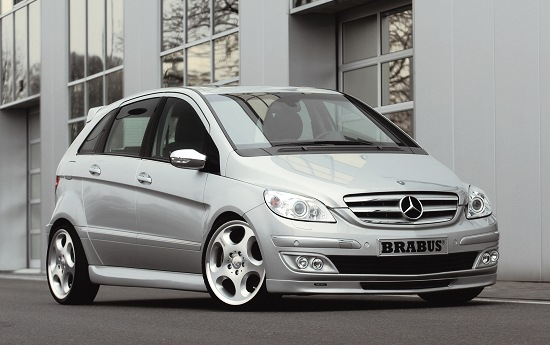Mercedes B-class by Brabus - front-right view