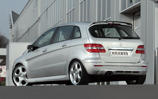 Mercedes B-class by Brabus - rear-left view