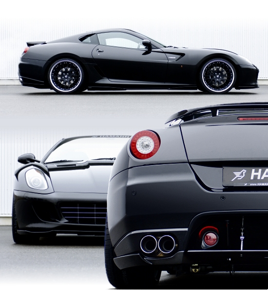 Ferrari 599 GTB by Hamann Motorsport - 3 views
