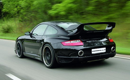 Porsche 911 (997) Turbo from Gemballa - rear-left view
