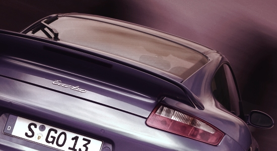 Porsche 911 (997) Turbo - rear detail