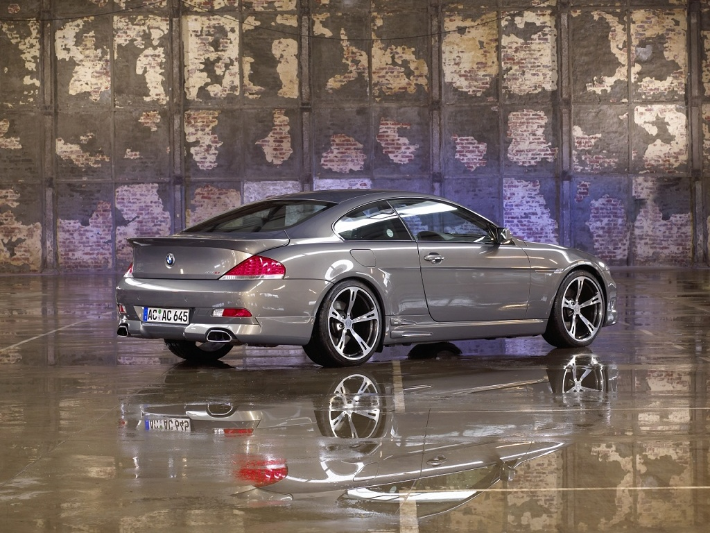 wallpaper 1024x768: BMW 6-series Coupe by AC Schnitzer - right-rear view