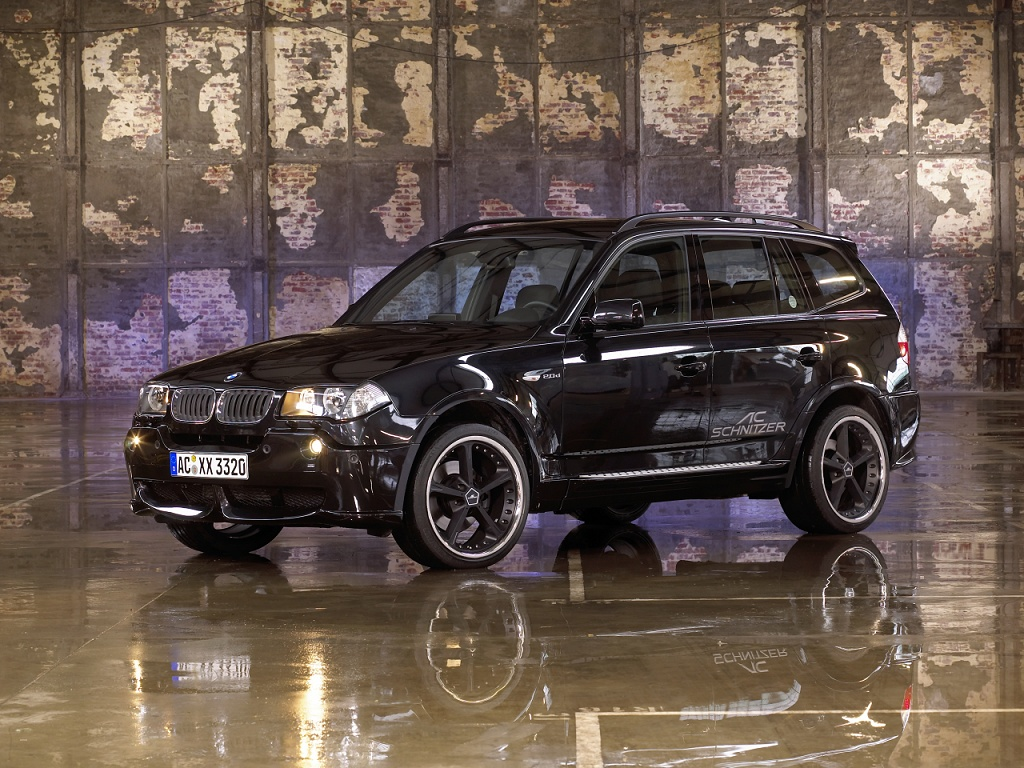 wallpaper 1024x768: BMW X3 by AC Schnitzer - left-front view