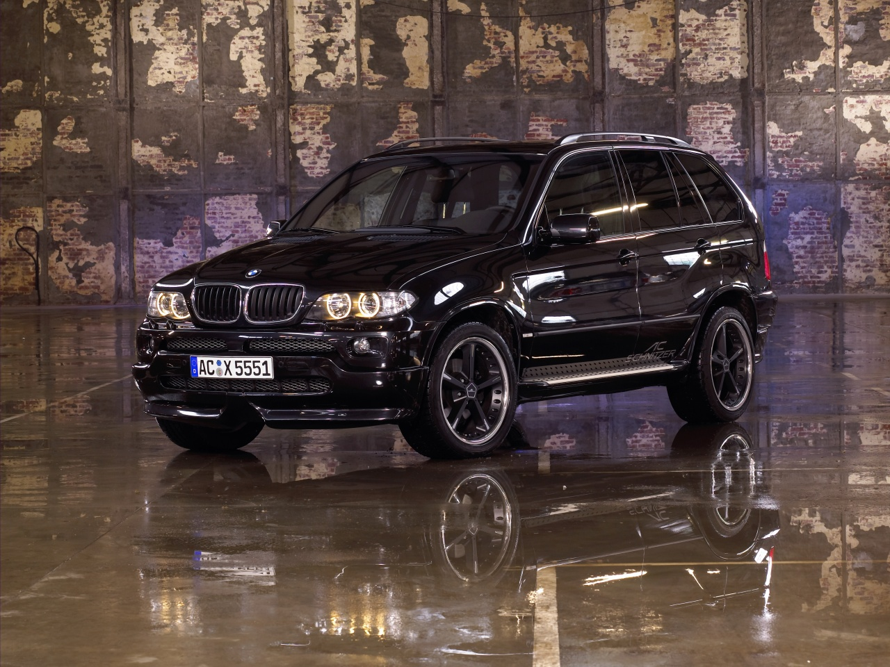 wallpaper 1280x960: BMW X5 by AC Schnitzer - left front view
