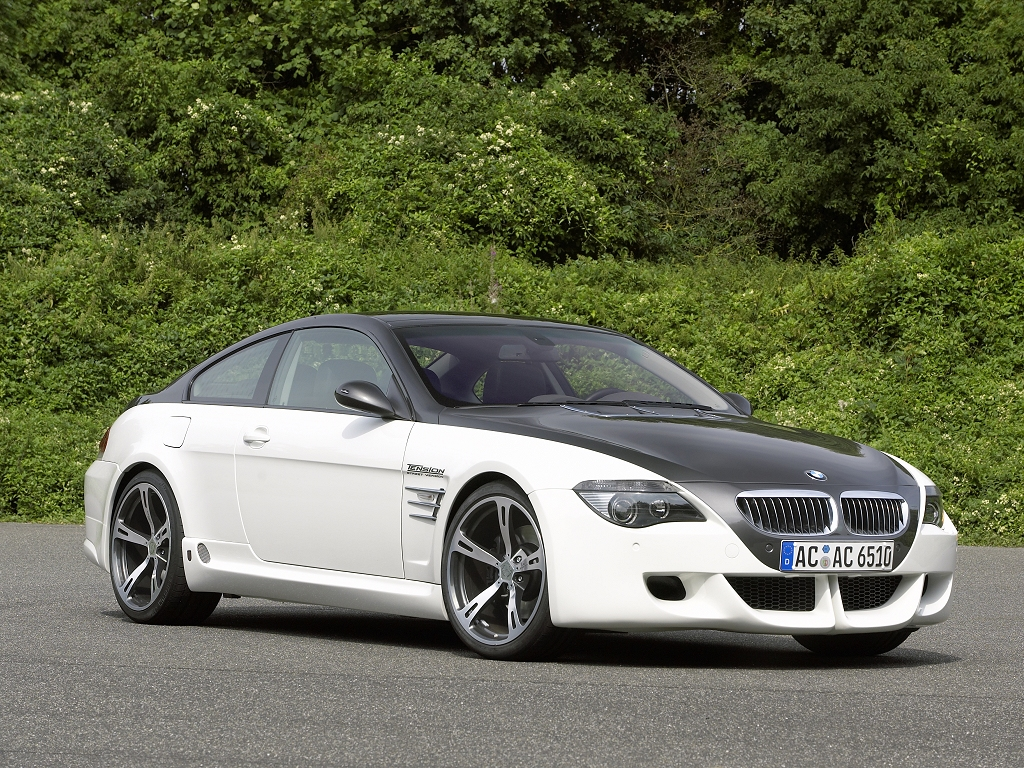 BMW 6-series coupe by AC Schnitzer - desktop wallpaper in 1024x768