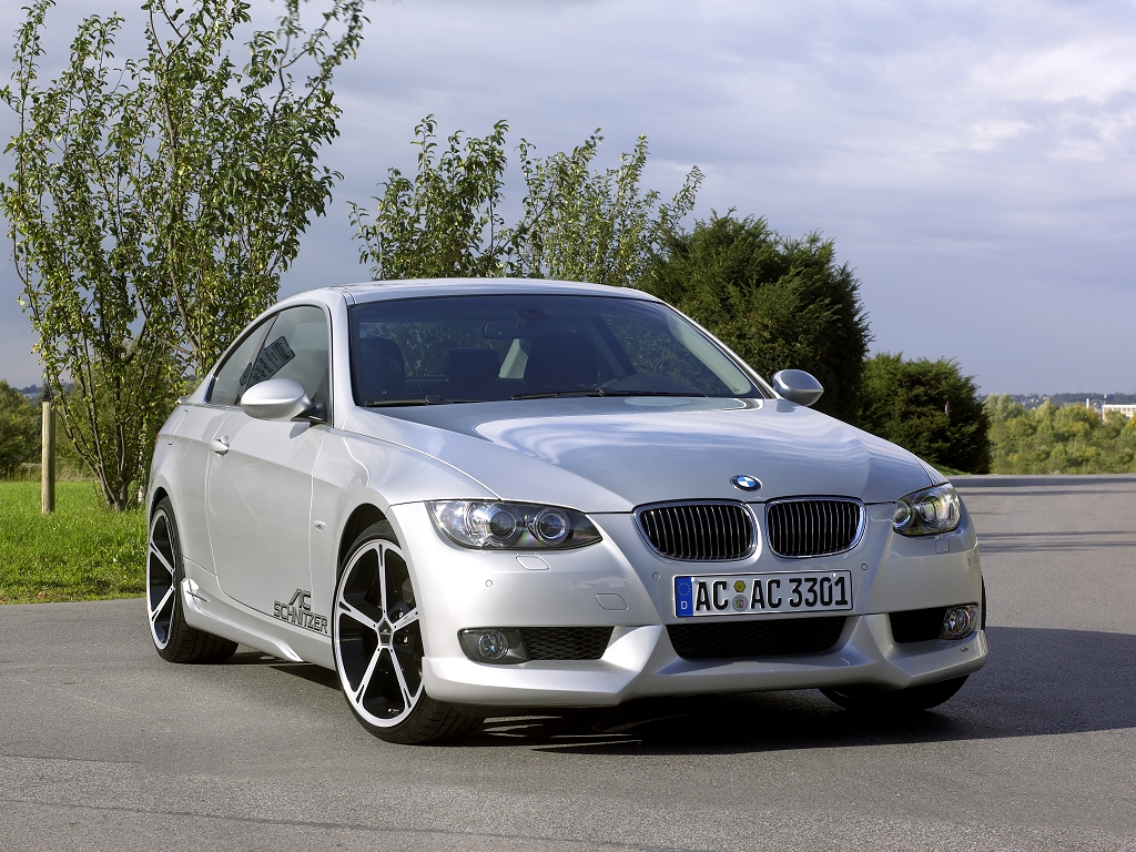 BMW 3-series coupe by AC Schnitzer - desktop wallpaper in 1024x768