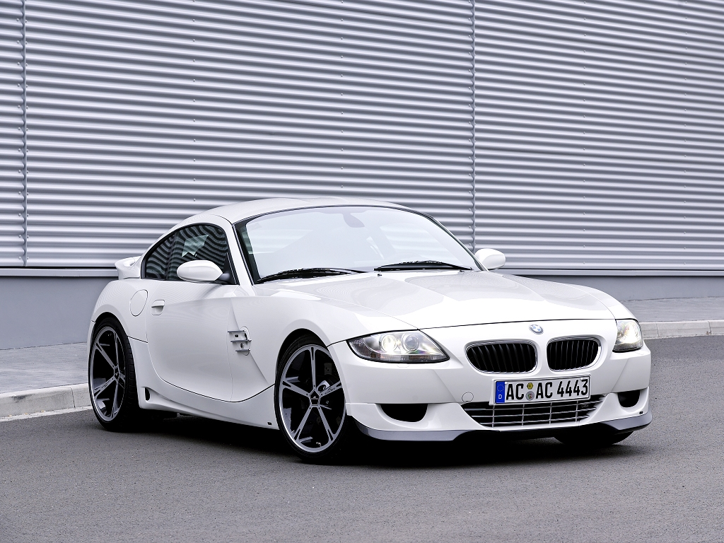 BMW Z4 coupe by AC Schnitzer - desktop wallpaper in 1024x768