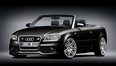 Audi A4 Convertible by B&B in black