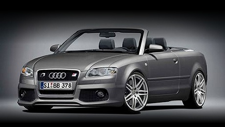 Audi A4 Convertible by B&B in grey