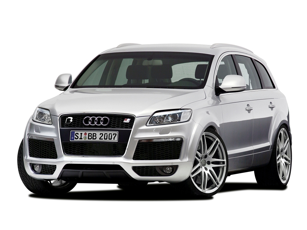 wallpaper 1024x768: Audi Q7 from B&B (front-left view)