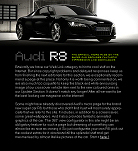 Audi has a great micro page on the R8