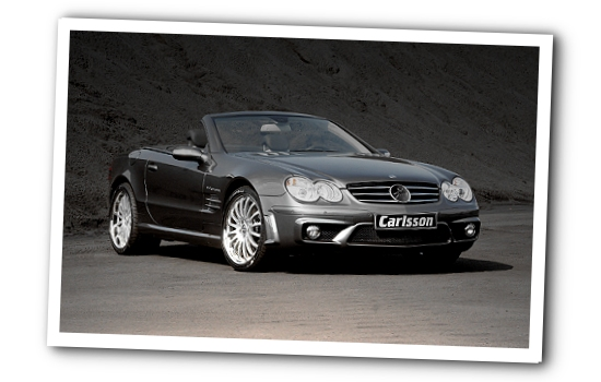 Carlsson SL CK55 front-right view