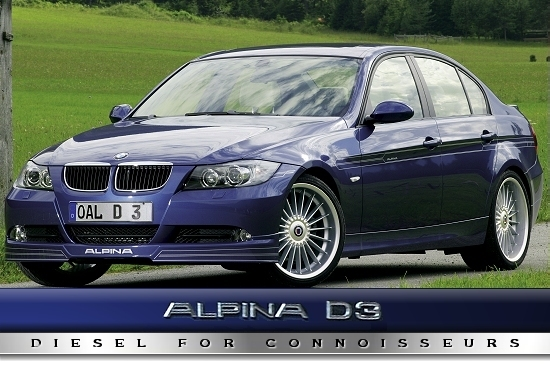 BMW Alpina D3 - Diesel For Connoisseurs