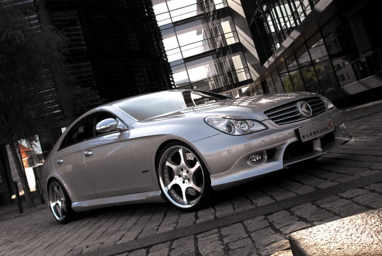 Mercedes Benz CLS by Kleemann - click for wallpaper