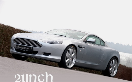 Aston Martin DB9 with Loder1899 rims