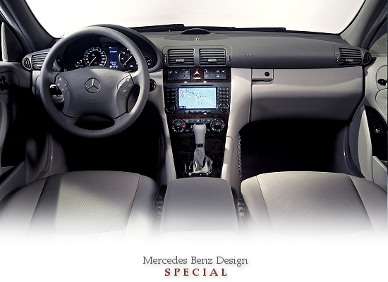 MERCEDES BENZ DESIGN SPECIAL (Mercedes C-class, dashboard)