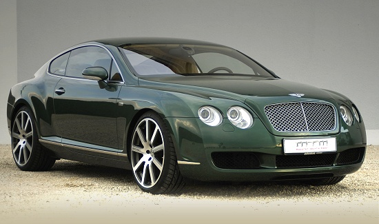 Bentley Continental GT by MTM - right-front view