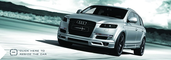 Audi Q7 by Nothelle - click here to resize the car