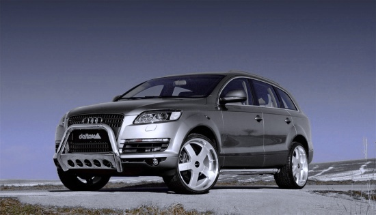 Audi Q7 by Delta - left-front view slightly from below