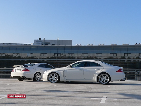 Mercedes Benz CLS by A_R_T - click for wallpaper