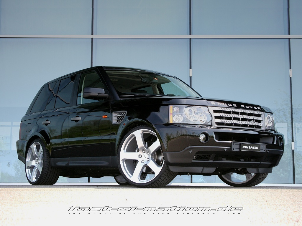 desktop wallpaper: Range Rover Sport by Rinspeed, right-front view