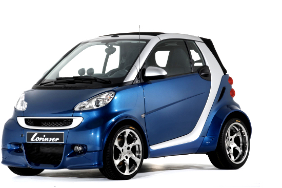 All-new Smart by Lorinser Sportservice
