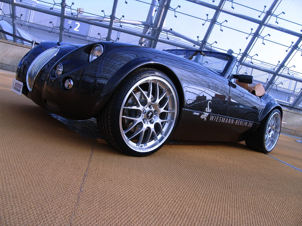 wallpaper 1024x768: Wiesmann Roadster