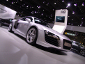 Audi R8 - front-right view 2 - click for wallpaper