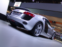 Audi R8 - rear-left view - click for wallpaper