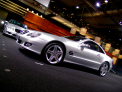 Mercedes Benz SL - right-front view 1 - click for wallpaper